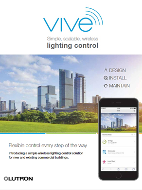 Lutron Vive Lighting Control catalogue