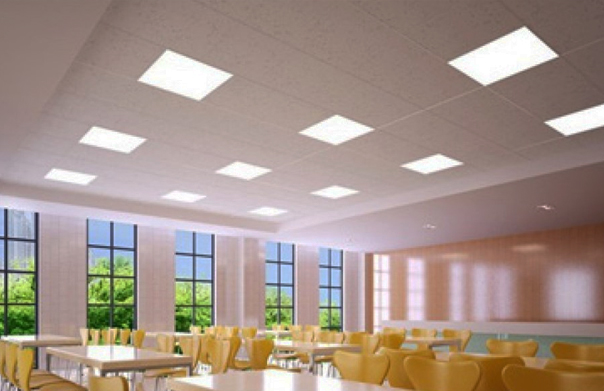 Syl-Slim Panel Light for vast spaces